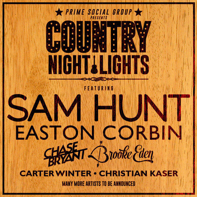 Beautiful Sam Hunt To Headline Country Night Lights Festival In Athens, OH Saturday!  Take A Moment To Check Out Set Times And The Festival Map, If You Are  Planning To ... Amazing Design