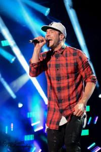 Sam Hunt performs at 2015 CMA Music Festival in Nashville. Photo by Ryan Keith Photography