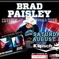 Concert Photos/Review: Brad Paisleys Crushin' It tour makes a stop in Indiana at The Klipsch Music Center