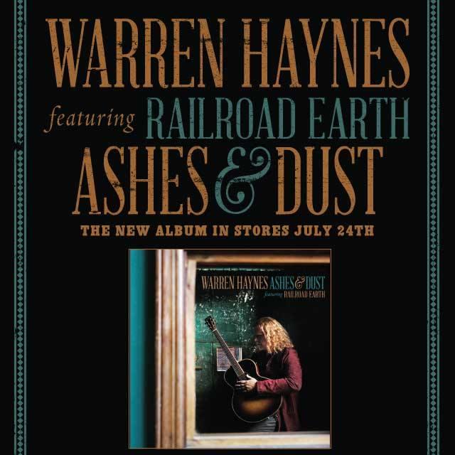 Warren Haynes Ashes And Dust : cd review warren haynes new cd release titled ashes and dust featuring railroad earth ~ Hamham.info Haus und Dekorationen