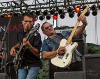 "Christian Kaser Band members Brian Papazian and Tony Schaffer at ""Country Night Lights"""