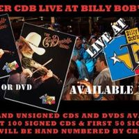 "Charlie Daniels to release Brand New ""Live From Billy Bob's"" album. Pre-Order your autographed Copy today!"