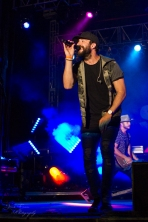 "Sam Hunt closing out a great day of concerts, great weather and a fun atmosphere at ""Country Night Lights""!"