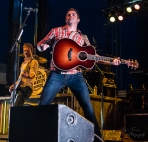"YEP...!!Easton Corbin giving it all at ""Country Night Lights""!"