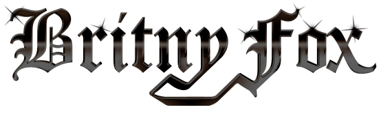 BRITNY FOX - LOGO - WHITE