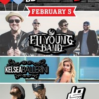 Eli Young Band, Kelsea Ballerini, and Locash to play WCOL Birthday Bash at Express Live! In Columbus, OH