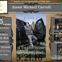 Jason Michael Carroll headlining Morristown Boy & Girls Club Benefit
