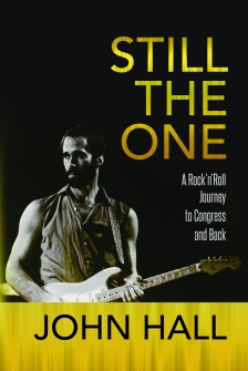 John Hall book STILLTHE ONE cover