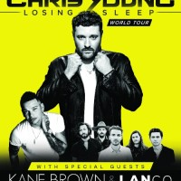 "Chris Young's ""Losing Sleep 2018 World Tour"" launches January 11  with special guests Kane Brown and LANCO"