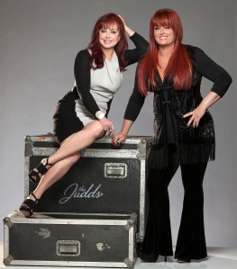 Photograph of Naomi and Wynonna Judd