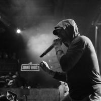 Eminen performs onstage during Citi Sound Vault Presents Eminem at Irving Plaza on January 26th, 2018 in New York City.