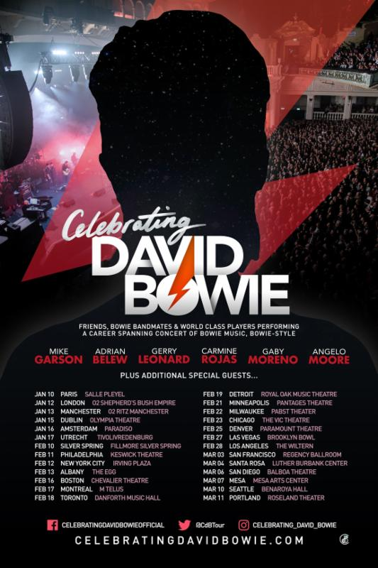 CELEBRATING DAVID BOWIE TOUR