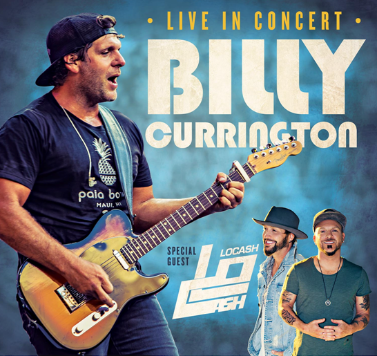 Mt Pleasant Toyota >> Billy Currington hits road with support from LoCash – Music Matters Magazine