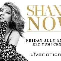 Shania Twain Live at KFC YUM Center July 20th