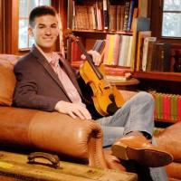 Fiddler Daniel Greeson- new addition to Sideline's bluegrass band