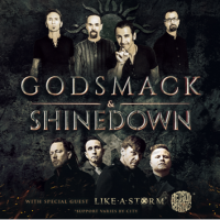 Godsmack & Shinedown co-headlining tour this summer!!