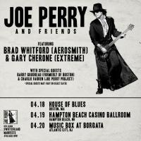 Joe Perry announces 'Joe Perry & Friends' show dates