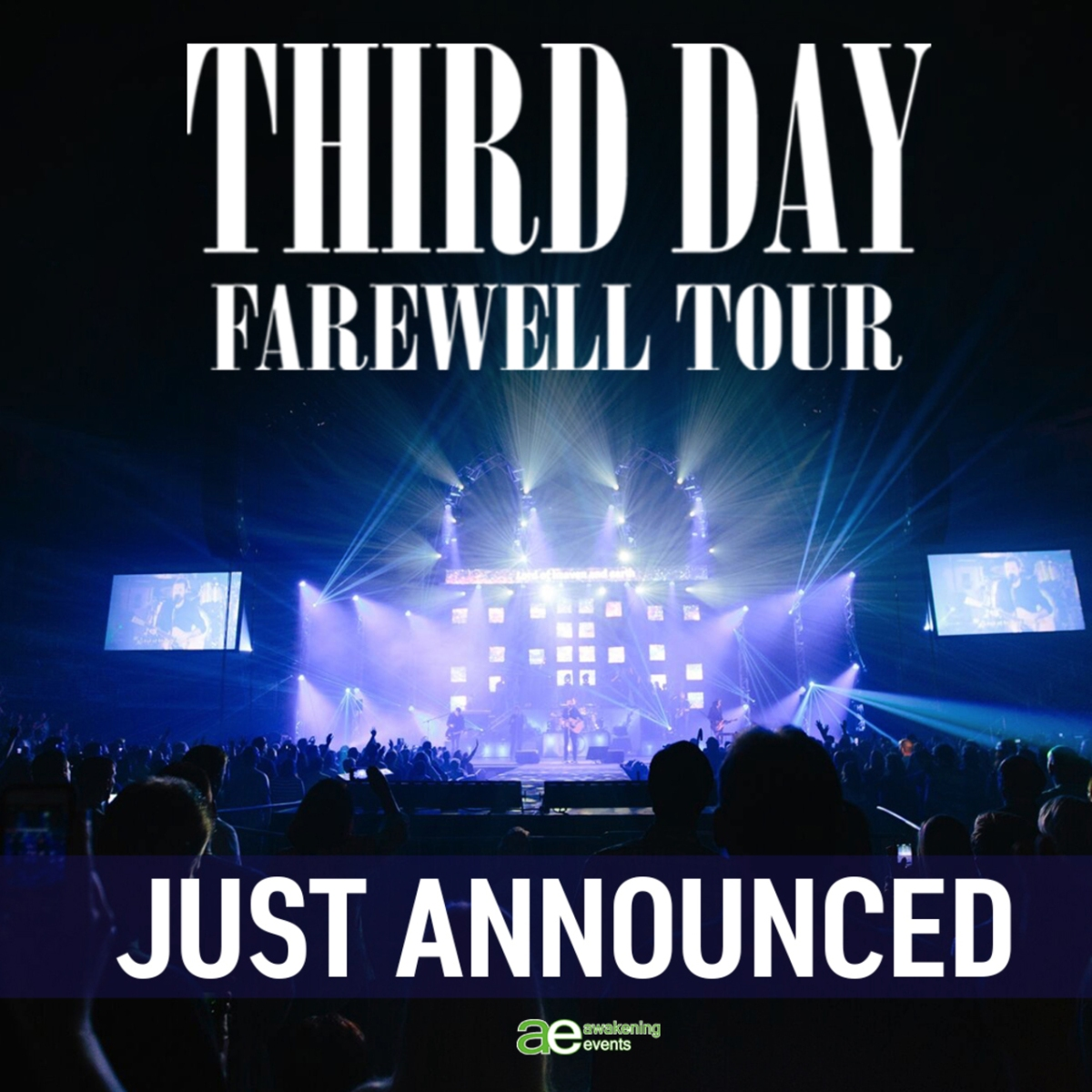 Third Day Announces their Farewell Tour with special guest Matt Maher