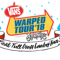 The Final VANS Warped Tour 2018 line up announced!