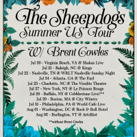 The Sheepdogs announce summer U.S. Tour