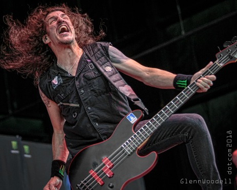 Frankie Bello of Anthrax