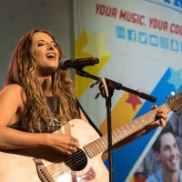 "Emily Hackett Debuted New Single ""Good Intentions""  At CMA Fest Radio Disney Country Stage"