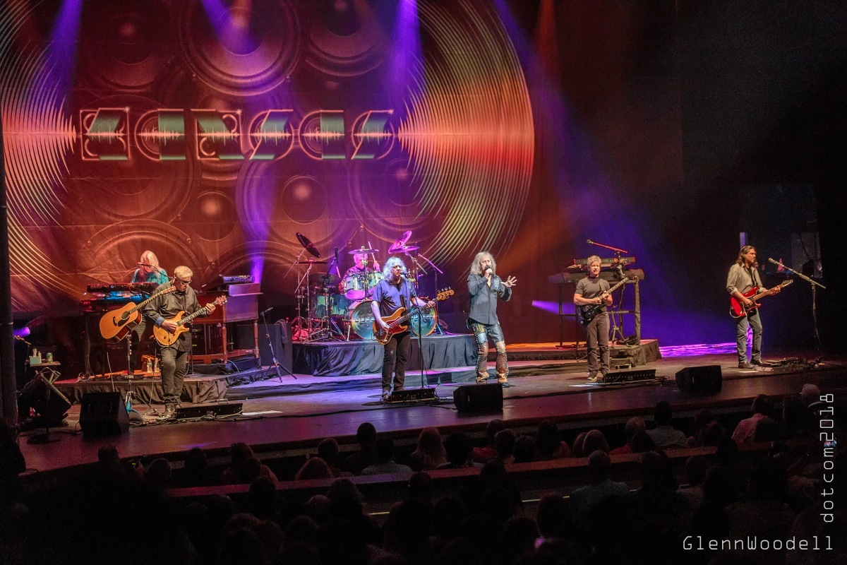 Kansas at the Sandler Center for the Performing Arts in Virginia Beach, Virginia on August 10, 2018