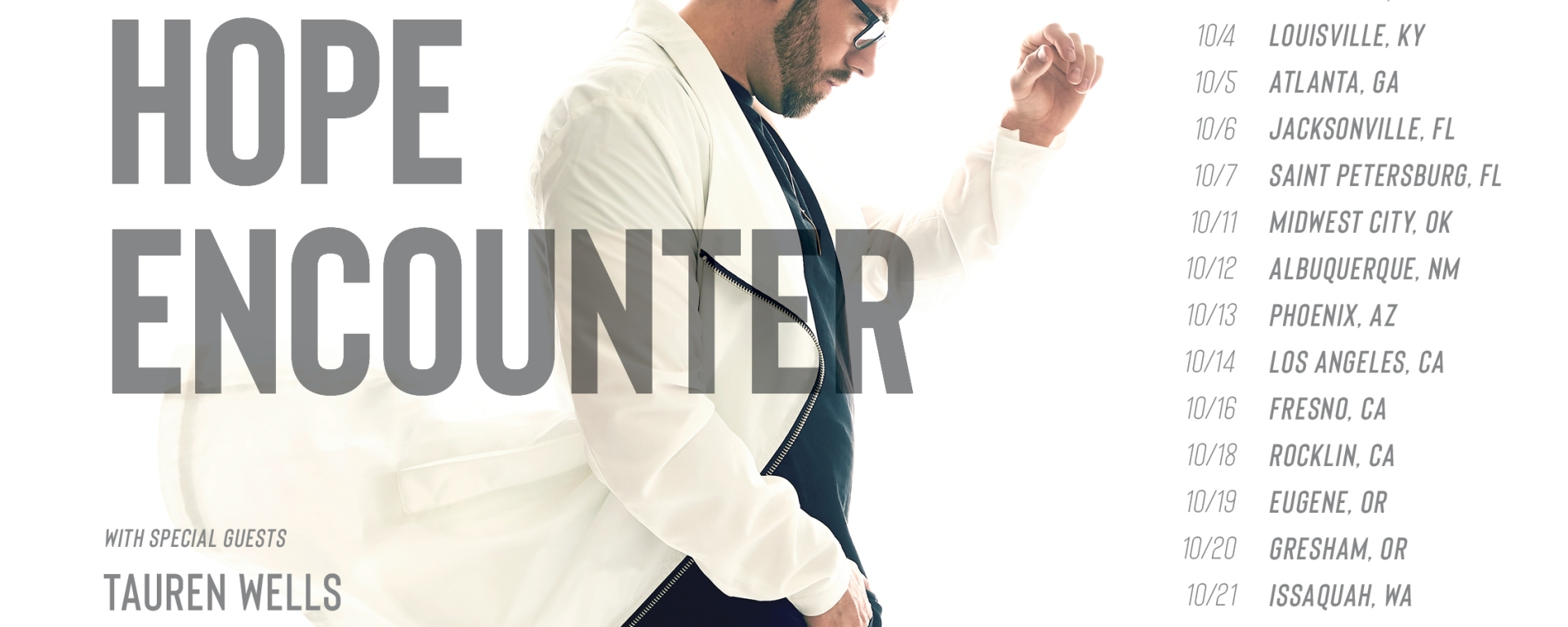 """Danny Gokey\'s """"The Hope Encounter"""" Tour Will Feature Local Community ..."""
