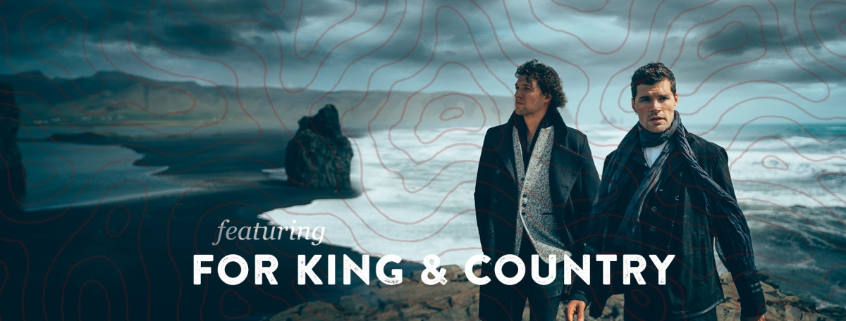 For King and Country to headline River Rock September14th!