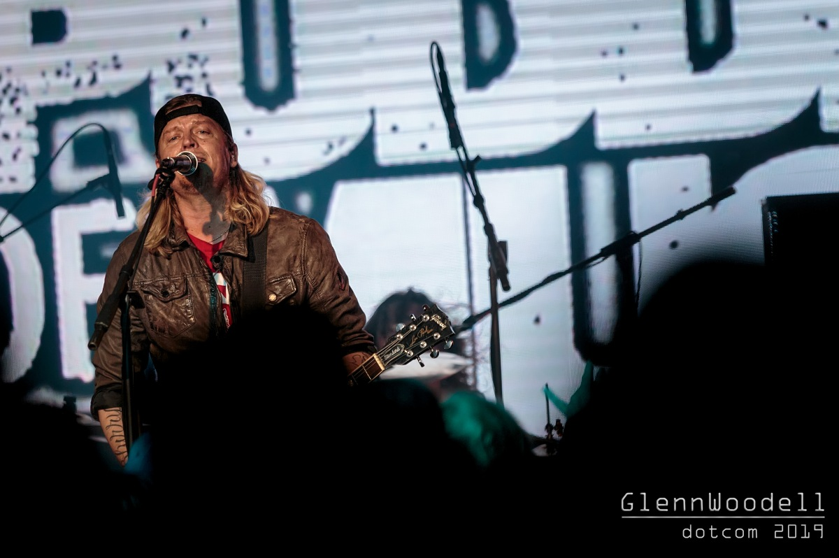Puddle of Mudd with 710OIL and Mick Blankenship at Boathouse Live in Newport News, Virginia January 10, 2019