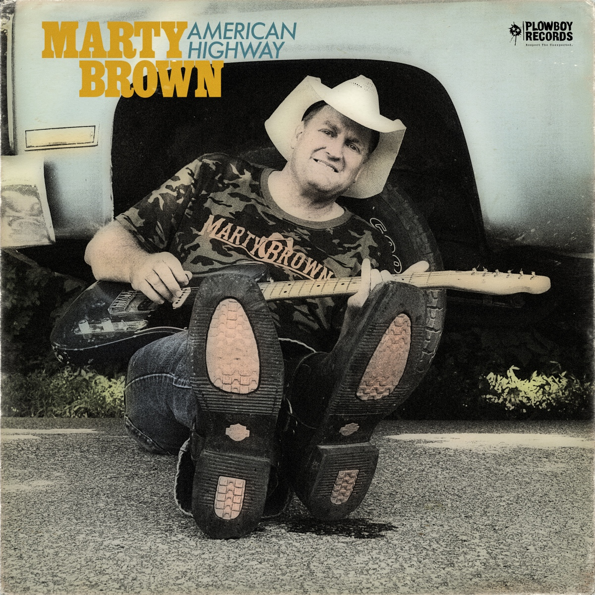 Marty Brown's 'American Highway' Hit Shelves YESTERDAY!