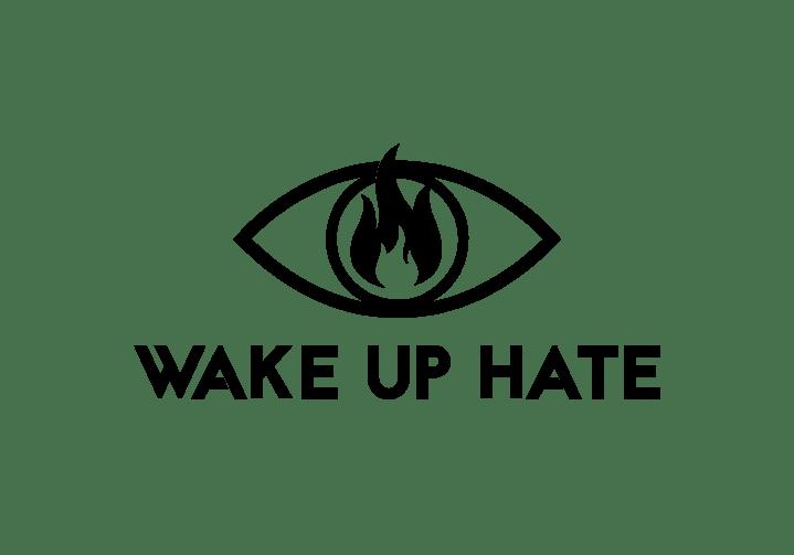wakeuphateLOGO black