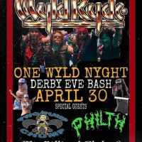 WYLD RYDE HEADLINES DERBY EVE CONCERT at THE BILLIARDS CLUB of LOUISVILLE APRIL 30th!